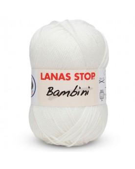 LANA STOP BAMBINI 000 BLANCO